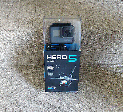 GoPro Hero 5 black bundle — accessories, case, 64GB Sandisk card