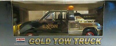 EXXON GOLD 1999 Collector/'s Edition Tow Truck-Mint in Box