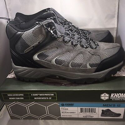f4b76a791be KHOMBU MENS HIKING Boots Outdoor Tyler Tactical Shoes Black Gray ...