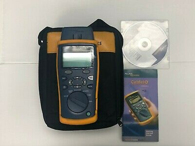 Fluke Networks CableIQ Qualification Tester With Case