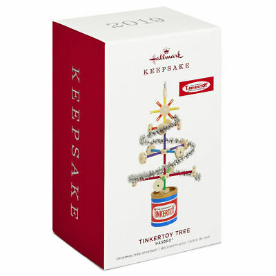 Hallmark Keepsake 2019 Hasbro Tinkertoy Tree Ornament