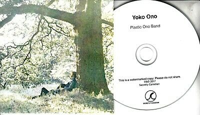 YOKO ONO Plastic Ono Band 2016 UK 10-trk promo test CD John Lennon Apple