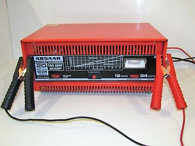 ABSAAR 12V /24V 20Amp) Heavy Duty Leisure & Marine Battery Charger 150A Booster