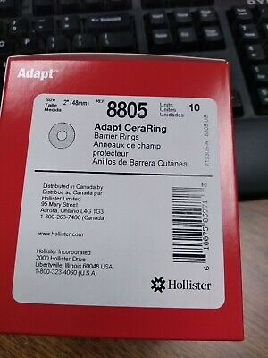 Hollister 8805 Adapt CeraRing Barrier Rings Box of 10