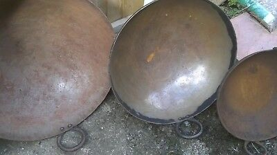 Commercial Catering Giant Steel Woks: 40, 54, 60 cm dia Outdoor /mobile catering