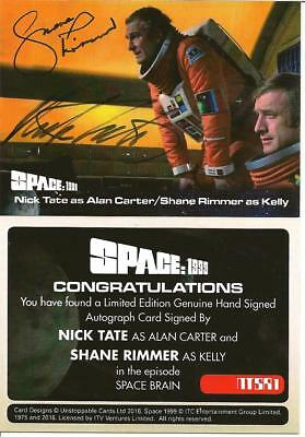 Space 1999 Nick Tate Shane Rimmer Dual Autograph Card Ntsr1 Unstoppable Cards A