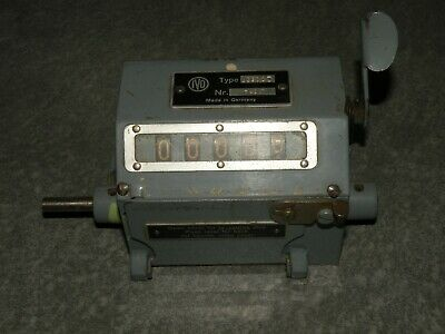 Vintage IVO Mechanical Rotational Counter U390AD Made in Germany