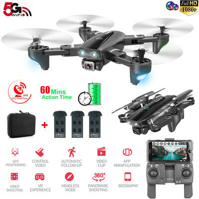Drone RC Drones x Pro 5G With 1080P HD Camera GPS WIFI FPV Foldable Quadcopter