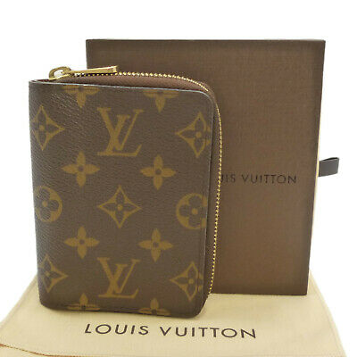 Authentic LOUIS VUITTON Agenda Wallet Monogram R21047 #S307059