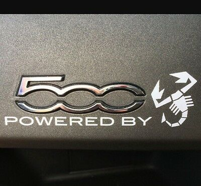 D111 Powered by auto aufkleber 3D Emblem Badge car Sticker Neu Abziehbild