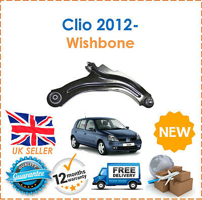 For Renault Clio 2012- Front Right Driver Side Wishbone Control Arm + Ball Joint
