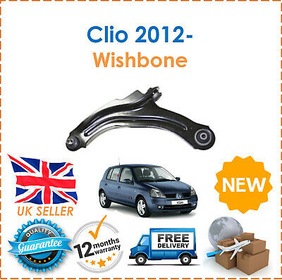 For Renault Clio 2012- Front Passenger Side Wishbone Control Arm + Ball Joint