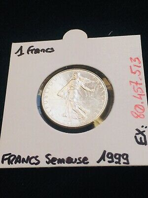 1 Francs Semeuse 1999 - Coin French