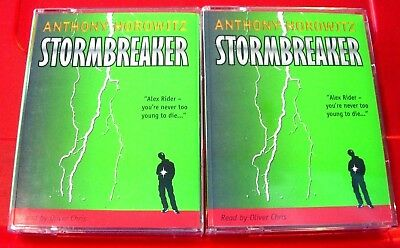 Anthony Horowitz Stormbreaker Alex Rider 4-Tape UNAB.Audio Oliver Chris Thriller