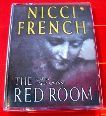 Nicci French The Red Room 2-Tape Audio Haydn Gwynne Crime Thriller(Gerrard/Sean)