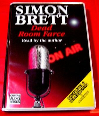 Simon Brett Reads Dead Room Farce Charles Paris 6-Tape UNABR. Audio Book Crime