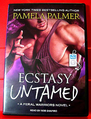Pamela Palmer Ecstasy Untamed Feral Warriors #6 MP3-CD UNABR.Audio Rob Shapiro