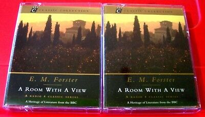 E.M.Forster A Room With A View BBC 4-Tape Audio Drama Sheila Hancock