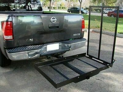 Wheelchair Hitch Carrier Mobility Disability Scooter Rack Medical Ramp Mount