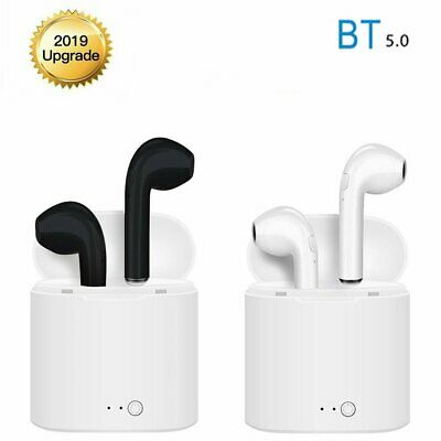 i7s TWS Bluetooth 5.0 Earbuds For Apple iPhone Wireless Headphones 2019 Upgraded