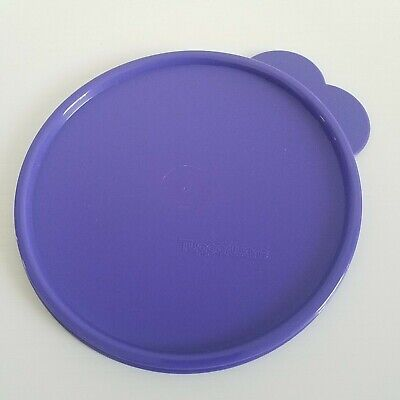 Tupperware Seal Lid Purple Butterfly Tab Replacement #2541