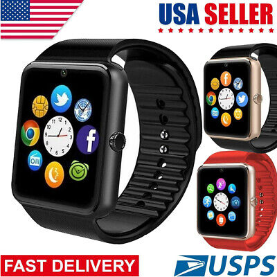 2019 GT08 Bluetooth Smart Watch Phone Wrist Watch for Android and iOS US Stock