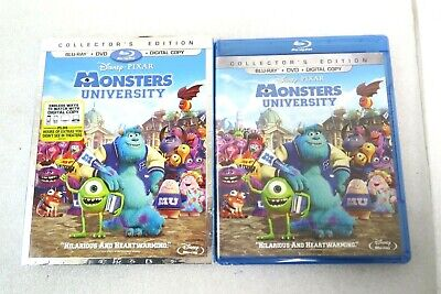 Monsters University Collector's Edition BluRay, DVD and Digital Copy/SLIPCOVER