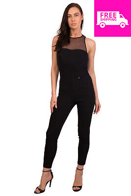 the best attitude 58701 845d5 RRP €265 ELISABETTA FRANCHI Jumpsuit Size IT 44 / M Contrast Mesh Made in  Italy