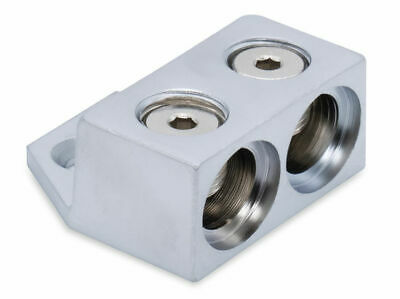 Kicker 46GT2 8 AWG Ground Termination Block with Two 1/0-8 Gauge Inputs