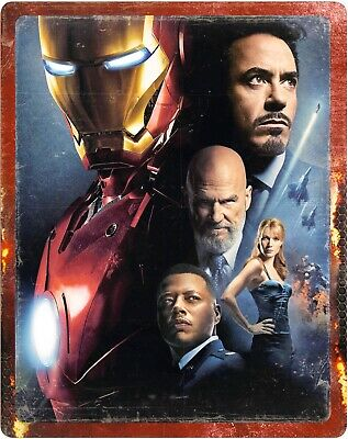 Iron Man 4K & 2D Blu Ray (Steelbook) - Limited Edition - ** Pre-Order **