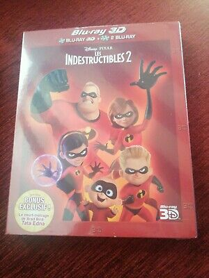 Les indestructibes 2 , blu-ray 3D + 2 blu-ray neuf sous blister