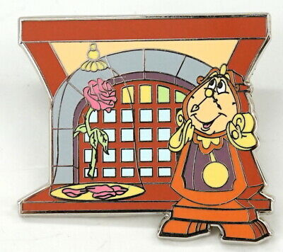 New Disney Parks Beauty And The Beast New Fantasyland Mystery Cogsworth Pin