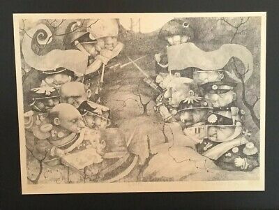 Charles Bragg  Fore 1988 Signed Limited Edition Art Etching