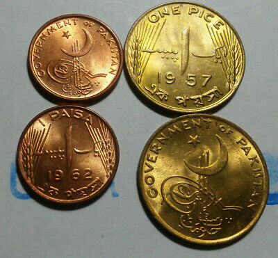 Pakistan, Vintage Coin Pair,