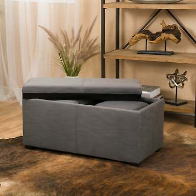 Miraculous 2 In 1 Set Velvet Button Tufted Round Storage Ottoman With Alphanode Cool Chair Designs And Ideas Alphanodeonline