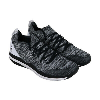Reebok Ultra Circuit Tr Ultk Lm Mens Black Textile Low Top Sneakers Shoes
