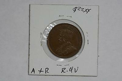 1918 Canada One Cent 1C Brown Unc