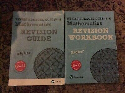 REVISE Edexcel GCSE (9-1) Maths Higher Revision Guide And Workbook