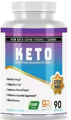 KETO Advanced Weight Loss Diet Pills Ketosis Supplements To Fat Burn&Carb 60 cap