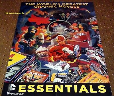 World's Greatest Graphic Novels Poster Dc Comics 22X34 Hellblazer Preacher Joker
