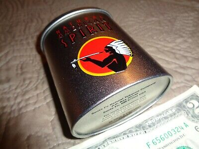 Natural American Spirit Cigarette - Silver Tin - Pack Holder - Mint Condition!