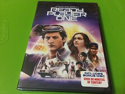 Ready Player One DVD Includes Bonus Disc NEW FREE S/H !!!