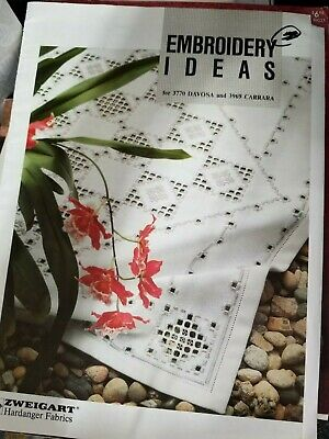 Embroidery Ideas by Zweigart Hardanger Fabrics Booklet