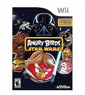 New Nintendo Wii Angry Birds Star Wars Video Game Factory Sealed