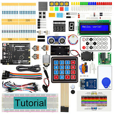 Freenove RFID Starter Kit V2 with UNO R3 (Arduino-Compatible) Breadboard Project