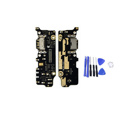 USB Charger Charging Port Dock + Mic Flex Cable For Xiaomi Mi 6X A2 Replacement