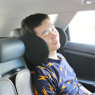 Car Seat Pillow Travel Neck Support Headrest For Child Kids Adults Adjustable