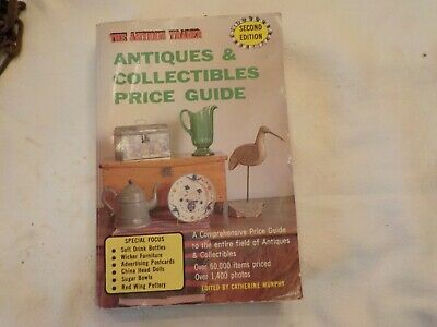 Antiques & Collectibles Price Guide The Antique Trader 1985 Paperback 2nd Editio