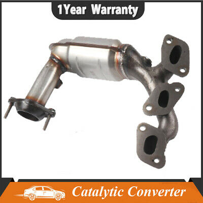 PE49417 FRONT EXHAUST MANIFOLD CATALYTIC CONVERTER FITS 2007-08 FORD ESCAPE 3.0L