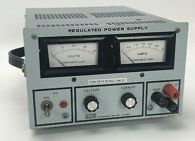 Pmc Rte Power/Mate Corp. Regulated Dc Power Supply Bpa-40E Bpa40E ***Works***